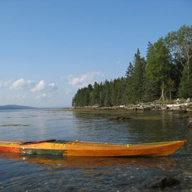 mentioned kayak, off of site 6