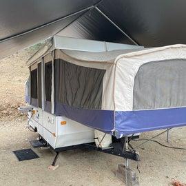 Pop up camper in 28a