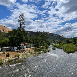 RV sites along the river