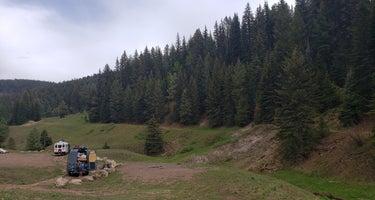 Bluff Springs dispersed camping