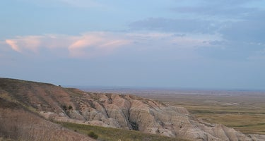 """""""The Wall"""" Dispersed camping just outside Badlands"""