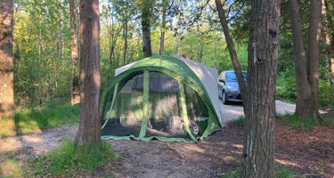 South Nicolet Bay Campground - Peninsula State Park