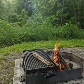 grill at #4
