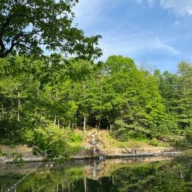 pond/lake view