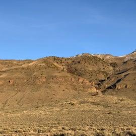 panorama of Hart Mountain