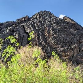 Amazing lava formation