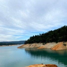 Bullard's Bar Reservoir from a campsite trail