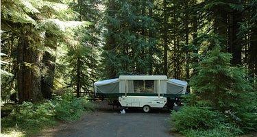 Mount Hood National Forest Lost Creek Campground