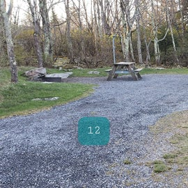 Site 12 Red Creek Campground