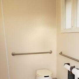 Vault toilet