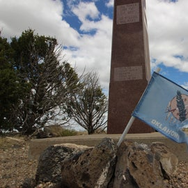 highest point in Oklahoma (black Mesa!)