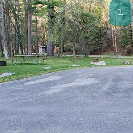 Site 1 Horseshoe Recreation Area CG