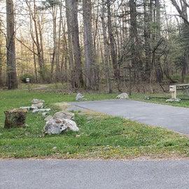 Site 2 Horseshoe Recreation Area CG