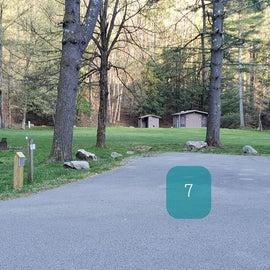 Site 7 Horseshoe Recreation Area CG