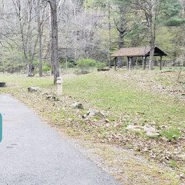 Site 9 Horseshoe Recreation Area CG