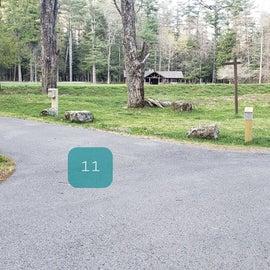Site 11 Horseshoe Recreation Area CG