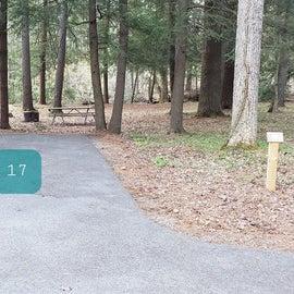 Site 17 Horseshoe Recreation Area CG