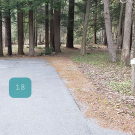 Site 18 Horseshoe Recreation Area CG