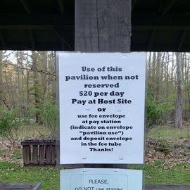 Instructions for pavilion usage