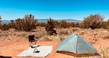 Coconino National Forest Road 525 - Dispersed Camping