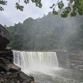nearby Cumberland Falls