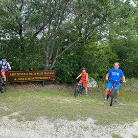 this bike trail was challenging , switch backs were no joke