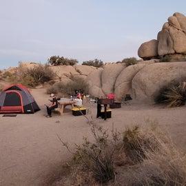 Campsite 068 Rocks!
