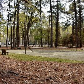 Tennis Court next to Cypress View Campground