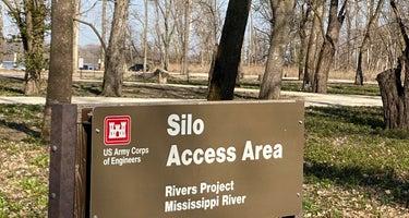 Silo Access Area