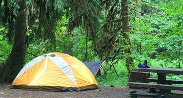 Sol Duc Campground - Olympic National Park