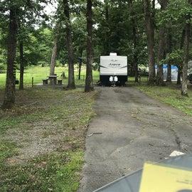 our campsite E10
