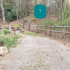 Fancy Gap Blue Ridge Pkwy KOA Site7