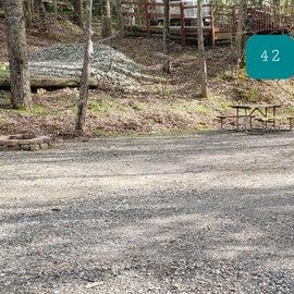 Fancy Gap Blue Ridge Pkwy KOA Site  42