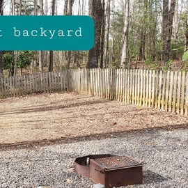 Fancy Gap Blue Ridge Pkwy KOA Site  43 pet backyard