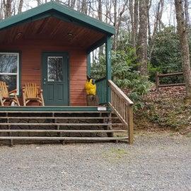 Fancy Gap Blue Ridge Pkwy KOA Cabin 49