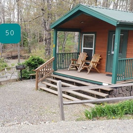 Fancy Gap Blue Ridge Pkwy KOA Cabin 50