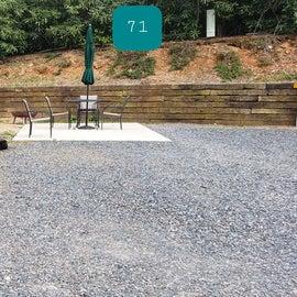 Fancy Gap Blue Ridge Pkwy KOA Site  69 & 71