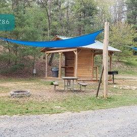 Fancy Gap Blue Ridge Pkwy KOA Site  T86