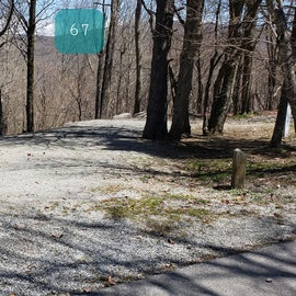 Grayson Highlands SP Site 67