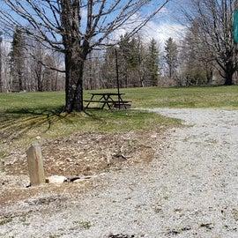 Grayson Highlands SP Site 31
