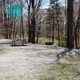 Grayson Highlands SP Site 13