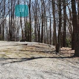 Grayson Highlands SP Site 18