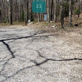 Grayson Highlands SP Site 22