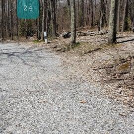 Grayson Highlands SP Site 24