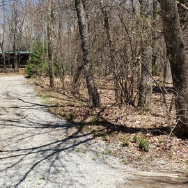 path to the bunkhouse