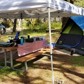 campsite K1