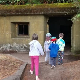 Exploring the old military instalations