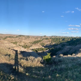 """Panoramic View from """"Eyeful Vista"""" near the Ampitheater"""