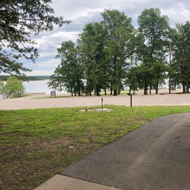 Looking at Eufaula lake to the East
