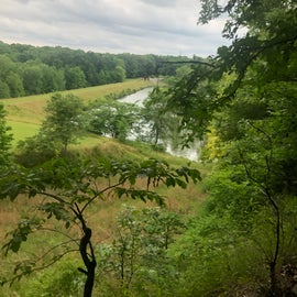 Lake Dunn trail overlook